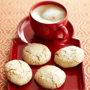 Italian Amaretti Cookies Beaten egg whites add structure to these light, flourless cookies. Almonds and amaretto give them rich flavor.