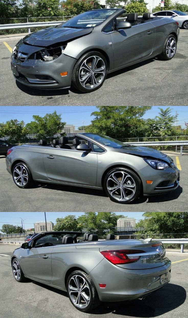 Low Miles 2017 Buick Cascada Premium Repairable Buick Cascada Buick Sports Cars For Sale