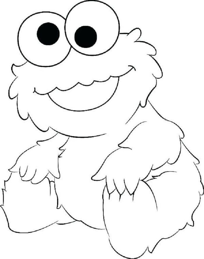 Baby Elmo Coloring Pages Monster Coloring Pages Elmo Coloring
