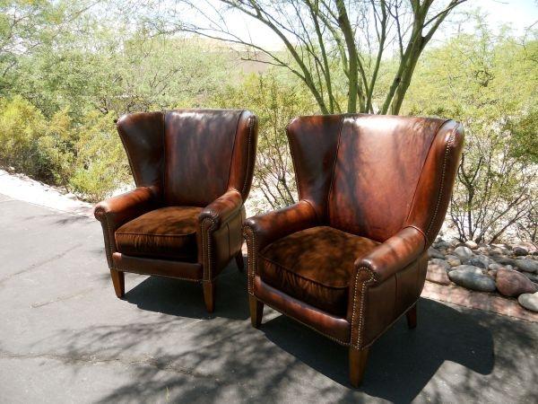 Wingback Chairs // Craigslist, $750