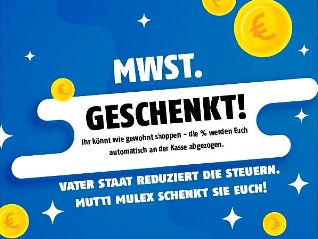 Mulex Gibt Die Mehrwertsteuer Senkung Gerne An Seine Kunden Weiter Video In 2020 Fettarm Kochen Mulex Kontaktgrill Besteck Set