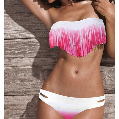 fringe bikini, always wanted one but can never find one big enough to cover:/