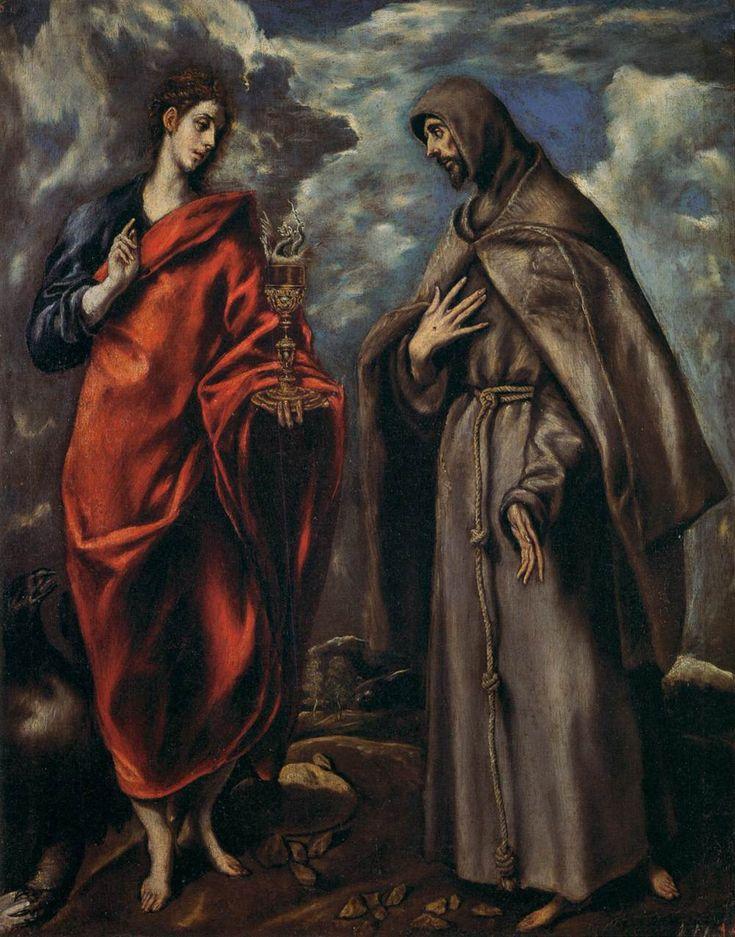 Οι Αγιοι Ιωάννης και Φραγκίσκος (1600)