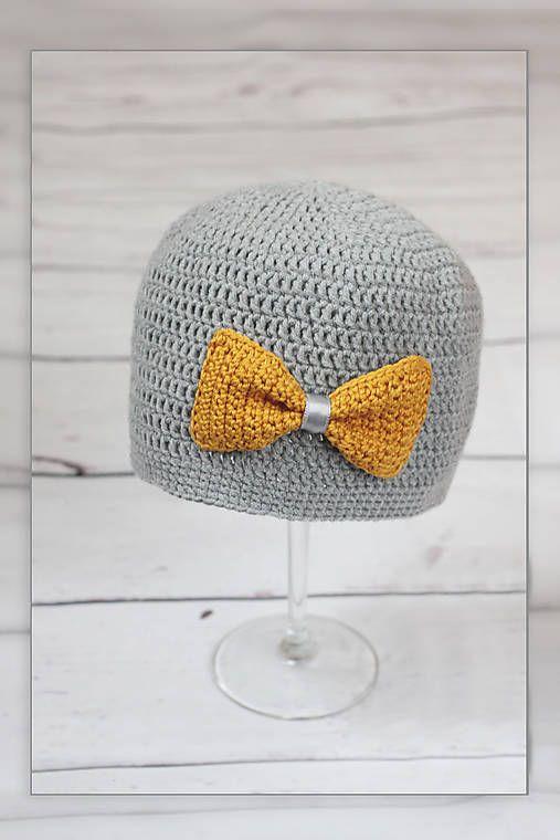 JanaO / háčkovaná čiapka