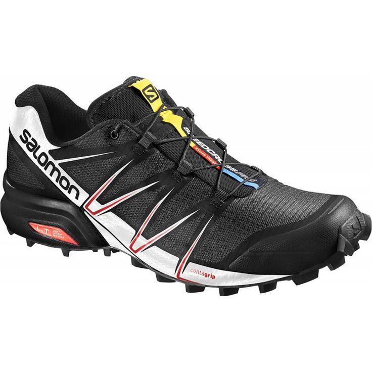 Salomon Speedcross Pro black / white / red