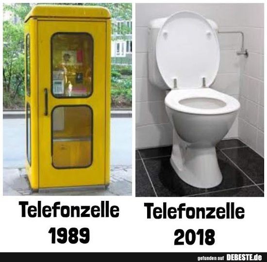 Telefonzelle 1989/2018——hahahahaha loooooool, der war gut – bitte mich nicht…