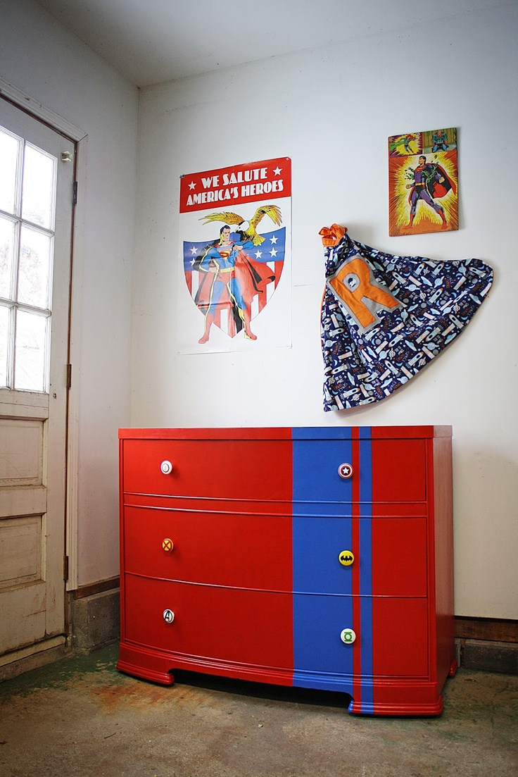 Comic Dresser. Avengers BedroomKids Room FurnitureSuperhero ...