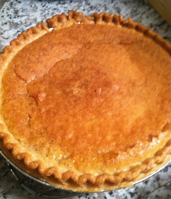LEMON CHESS PIE - An old Southern tradition recipe.
