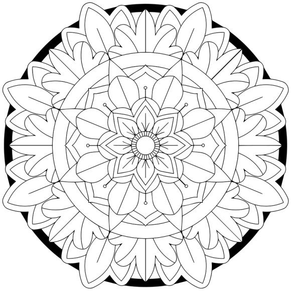 mandala monday free download to colour in 12