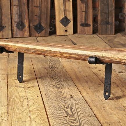 półka ze starego drewna b