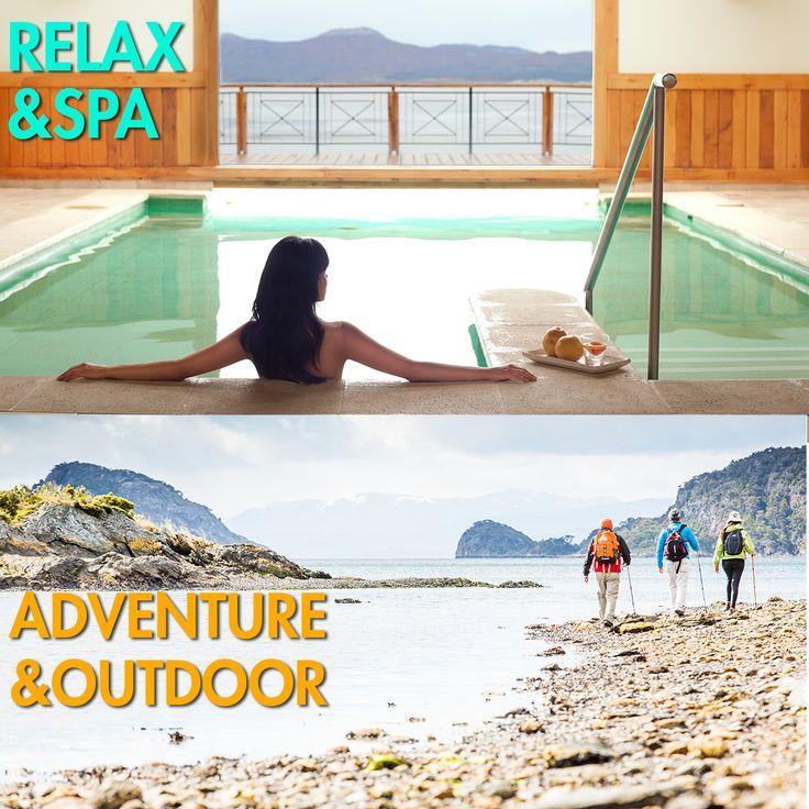 Cuál es tu elección para disfrutar tus #viajes  al máximo? #Relax  & #Spa  ? o #Aventura  y #Outdoor  ? @loscauquenes  te ofrece todas las opciones para vivir una #experiencia  inolvidable en el #FinDelMundo ! Mirá > http://landing.acrossargentina.com/viaje_fin_de_ano_argentina?mkt_hm=10&utm_source=email_marketing&utm_admin=25931&utm_medium=email&utm_campaign=Propuestas