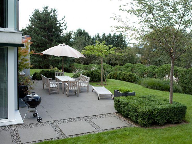 l'atelier côté jardin / jardin vico, epalinges (architectures: vico magistretti)