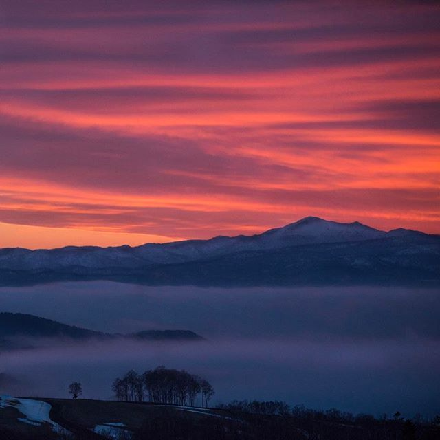 #amazingsunrise #wakeuptothis #naturedoesitbest #landscapephotography #getupearly #roomwithaview #zaborin #niseko #hokkaido #visitjapan  | zaborin.com