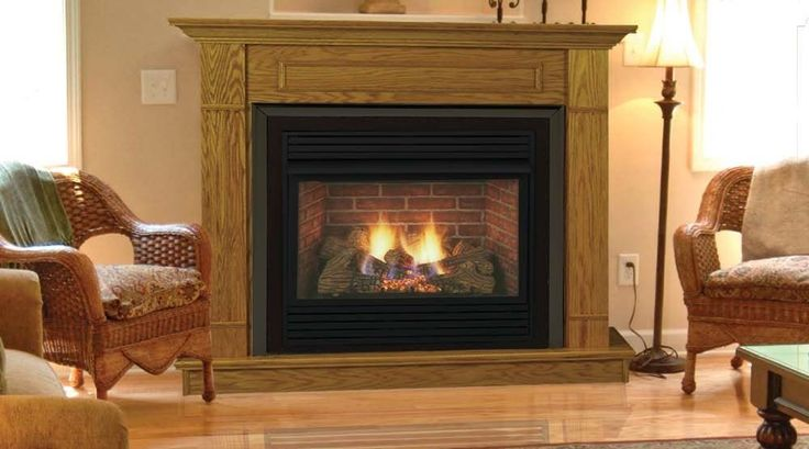 Ventless Propane Fireplaces | ... Gas Fireplaces Monessen DFS36N Propane Natural Gas Ventless Fireplace