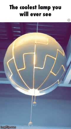 Add a color changing light bulb to it and I'm golden!