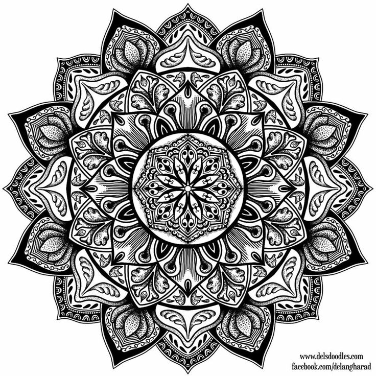 9 Best Mandala Color Plates For Adults Images On Pinterest