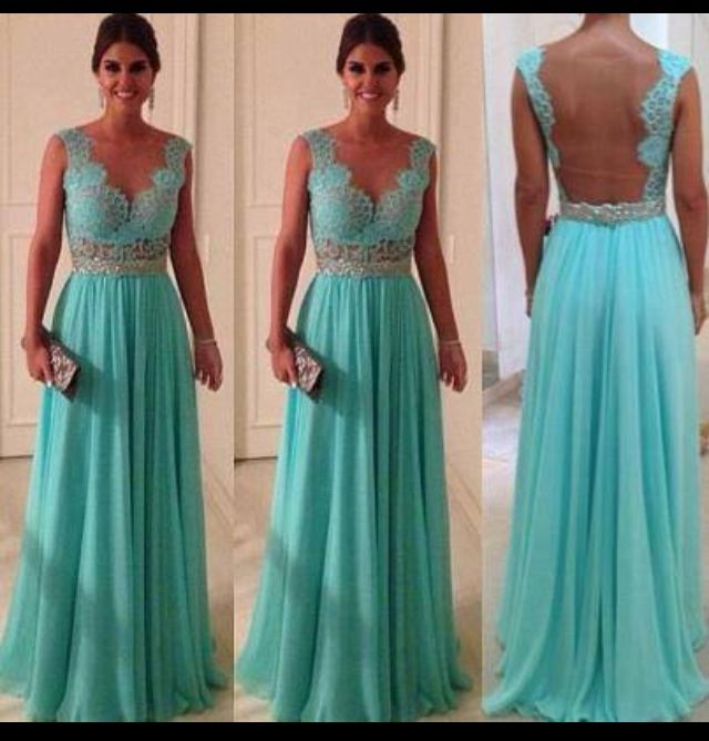 I would wear this beautiful dress....  I want this beautiful dress...