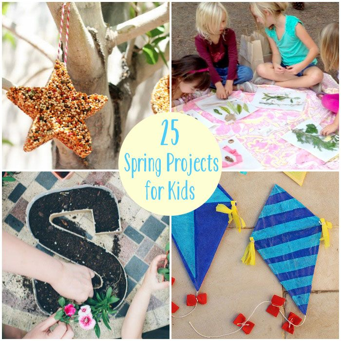 25 spring projects for kids on babble features our pour