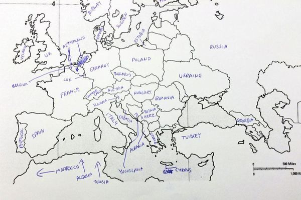 Wenn Amerikaner europäische Länder benennen sollen ...