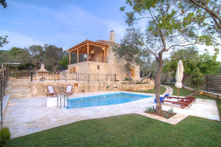 3 Bedroom Villa in Prines to rent from £857 pw, with a private pool. Also with balcony/terrace, Log fire, air con and TV.