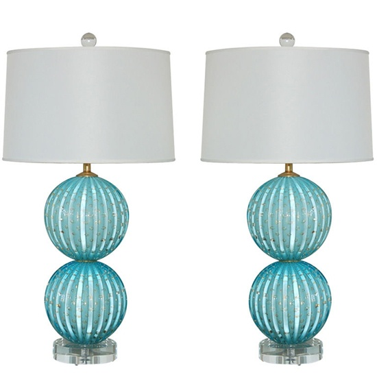 dream lamps for my dream bedroom via Little Green Notebook