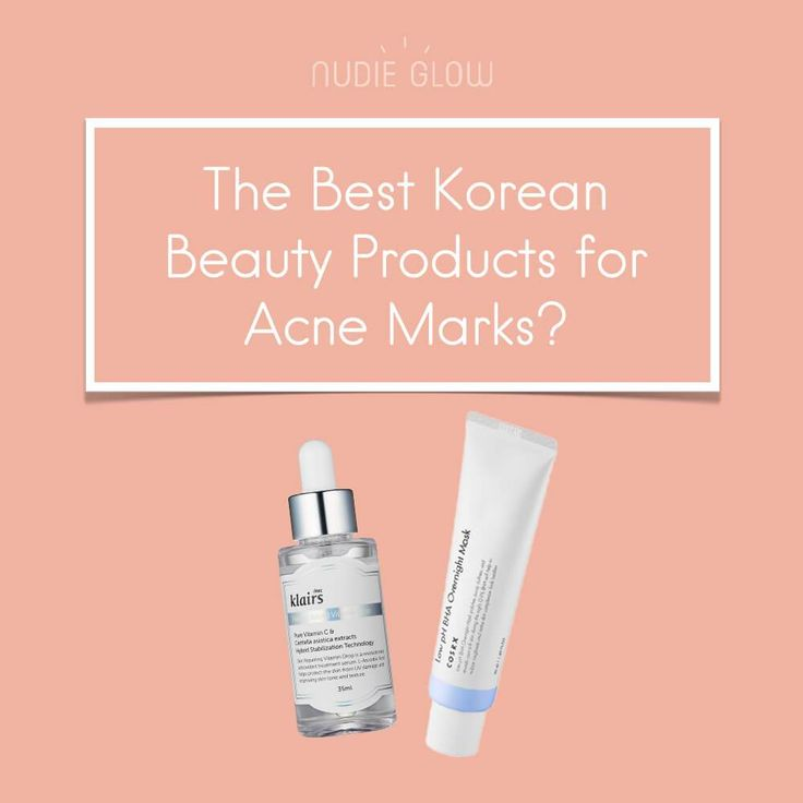 10 Best Korean Beauty Products for Acne Scars