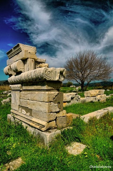 ~ Temple of Hera - Pythagoreio, Samos Island ~  This is one I can cross off my list having been there a few years ago. Any other suggestions? Let us know at: http://www.besteno.com/questions/where-is-the-best-place-to-go-sight-seeing-in-greece