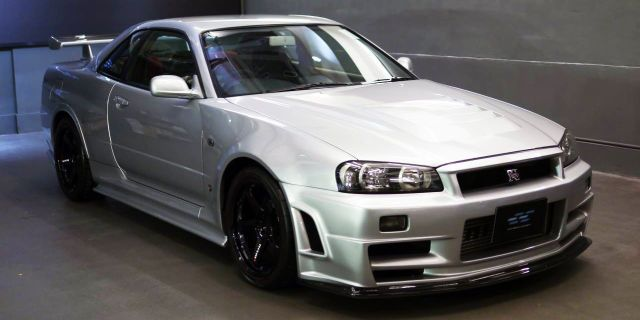 You Can Buy This Extremely Rare 2003 R34 Skyline GT-R Z-Tune