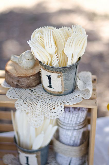 Kyler's Woodland First Birthday Party - Wildflower Blog  Photos by It's Love Photography