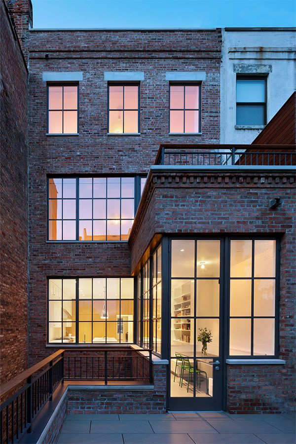 west side town house ~ o'neill rose architects