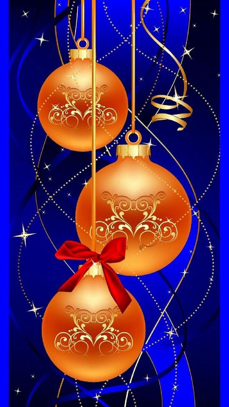 Новогодние шары и открытки, христианские открытки поздравление