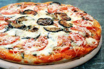 Пицца баклажанная