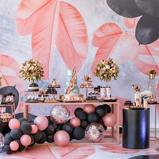 Best Balloon Party Styling Party Decoration Balloon Garland Balloon Backdrop Balloon Decorations 18th Birthday Party Themes 18th Birthday Party Ideas For Girls Elegant Birthday Party