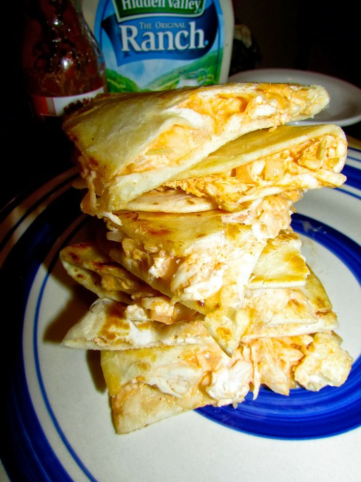Sweet and Salsa Sisters: Buffalo Chicken Quesadillas! Delicious!! and sooo easy! Perfect for Super Bowl Sunday!
