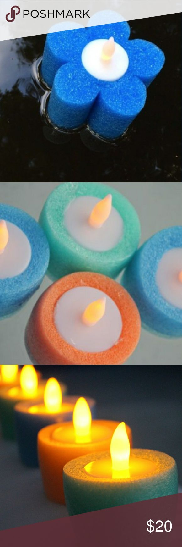 Beautiful pool noodle light floats (1 Dozen) Pool floats with led lights. Can also be used in the tub. Other