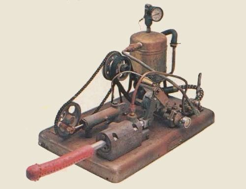 """This is exactly what you think it is. The first known mechanical vibrator was a hand-crank device made in 1734. The idea that women could be relieved of the illness of """"hysteria"""" by genital manipulation to the point of """"paroxysm"""" dates medically to Galen in the 2nd century. This is the infamous """"pocket"""" table-top version of the steam powered Manipulator invented by Dr. George Taylor in 1869. The first machine hid its engine in another room with the apparatus sticking through the wall, not…"""