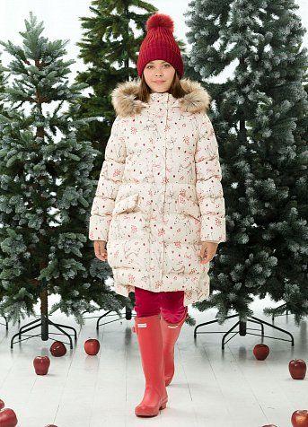 fc8c43fa36b Пальто для девочек. Рекомендованный температурный режим  не ниже -25°С. Удлинённое  пальто