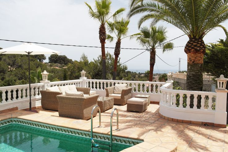 Casa Buena Vida a charming villa with a private pool overlooking the Mediterranean sea. https://www.lacaza.co.uk/holiday-homes/buena-vida.html
