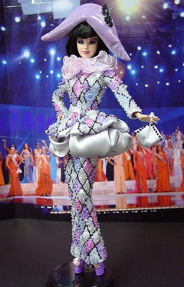Ninimomo: OOAK Barbie, Miss Malta 2009