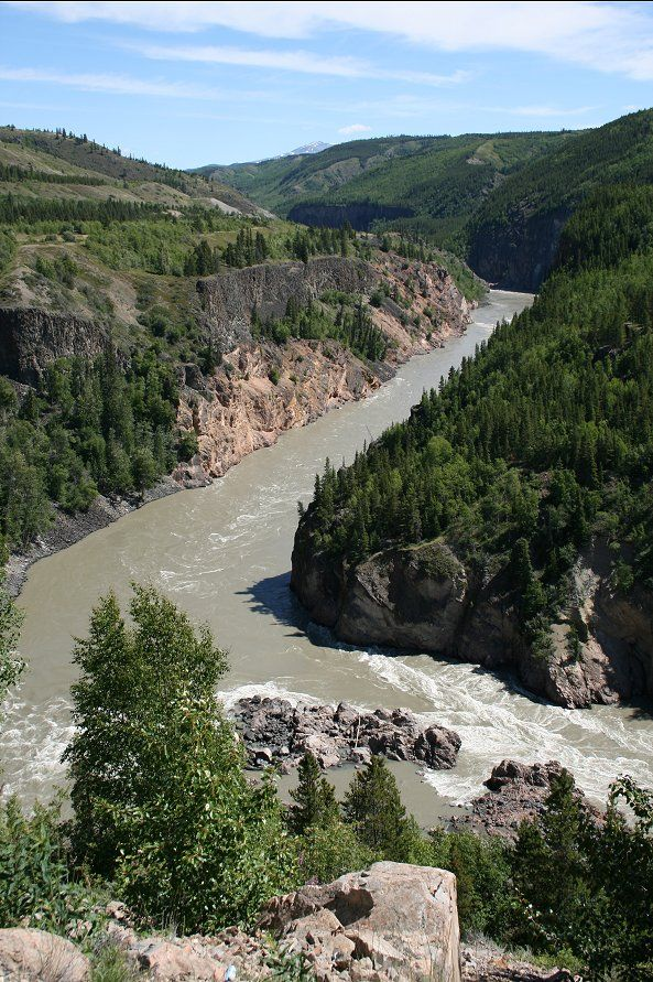 stikine river, telegraph creek, bc