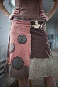 love. Tshirt skirt m