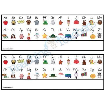 Alphabet Desk Charts