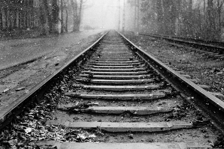 Tram tracks, by Kakhaev.