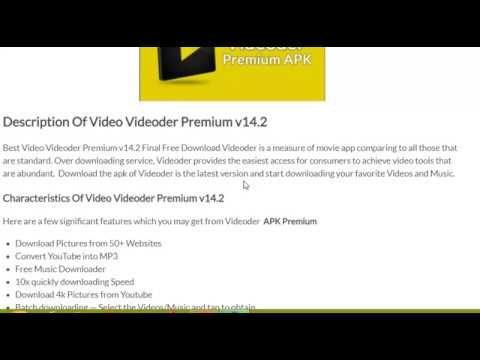 Best Video Videoder Premium Latest Version Free Download