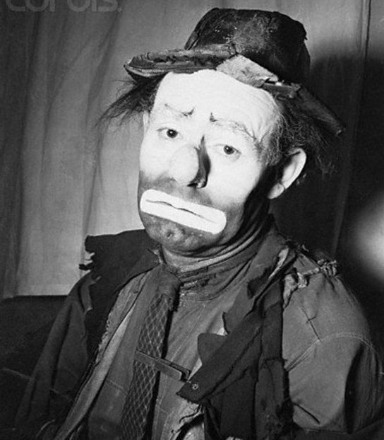 Emmet 'Weary Willie' Kelly, Sr.       Allaboutclowns.com