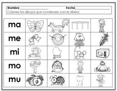 trabajos con la m para preescolar - Buscar con Google