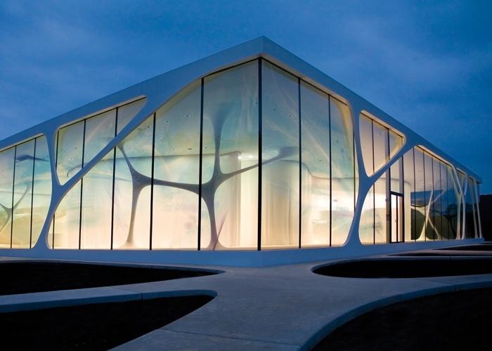 Façade Of Leonardo Glass Cube U2013 HI MACS®
