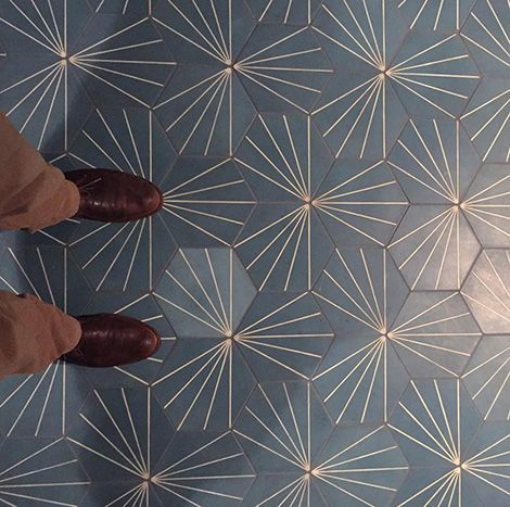 Gorgeous tile