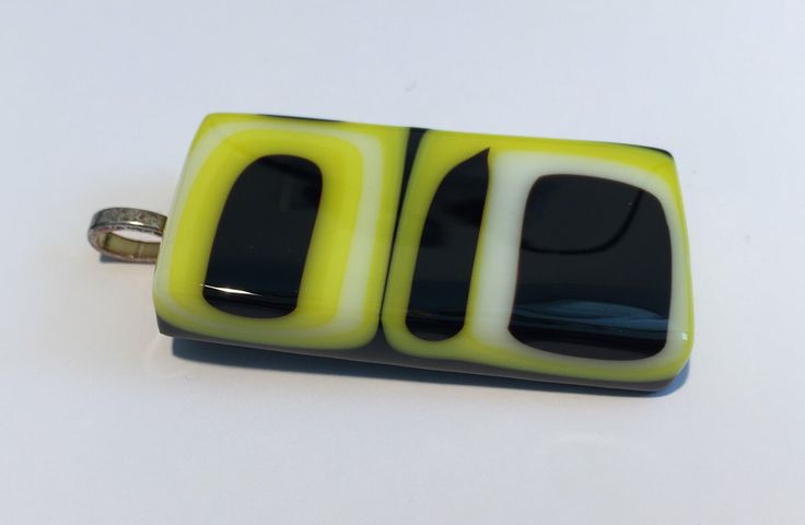 Geometric fun: Big black & yellow / gold Pittsburgh Steeler Pens inspired fused glass pendant, bold modern pattern by Spallek Glass Art by SpalleksGlassArt on Etsy https://www.etsy.com/au/listing/478411916/geometric-fun-big-black-yellow-gold