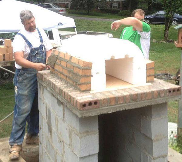 Diy Brick Pizza Oven By The Shiley Family Brickwood Ovens